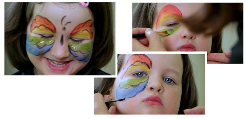 Как самим сделать краску для аквагрима