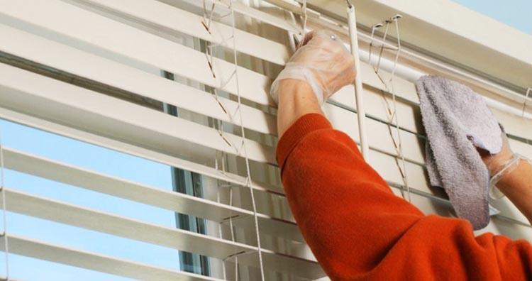Как постирать жалюзи в домашних условиях