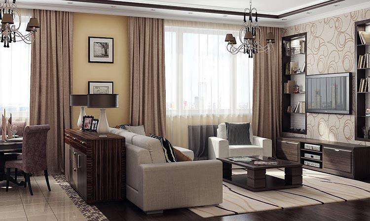 10 современных идей дизайна квартир 2016 года №4