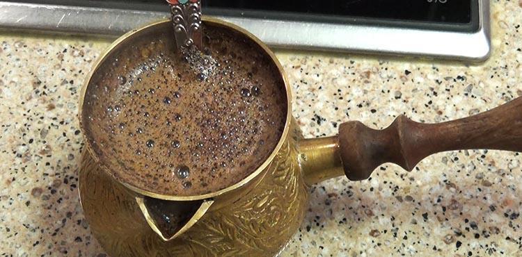 как в турке варить кофе №2