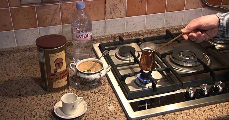 как в турке варить кофе №3