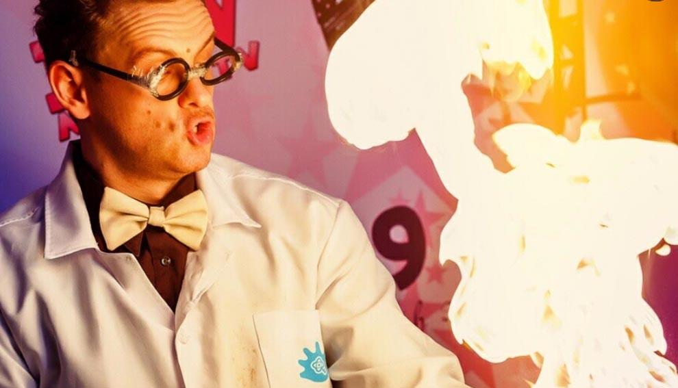 научное шоу на день рождения №3