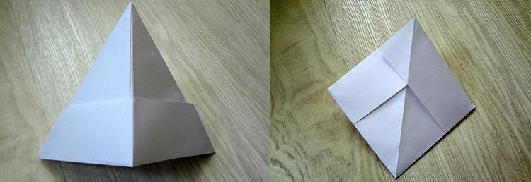 как сделать кораблик из бумаги №5