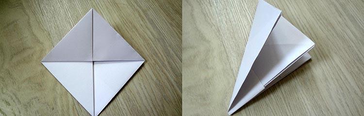 как сделать кораблик из бумаги №6