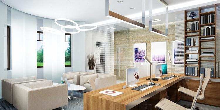 как расставить мебель в маленьком офисе