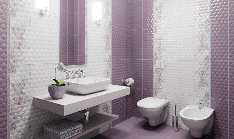 какую плитку выбрать в маленькую ванную