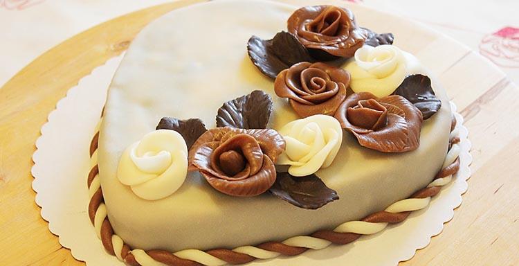 как сделать шоколадные розы