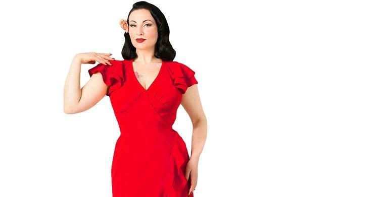 виды коротких рукавов для платья №6