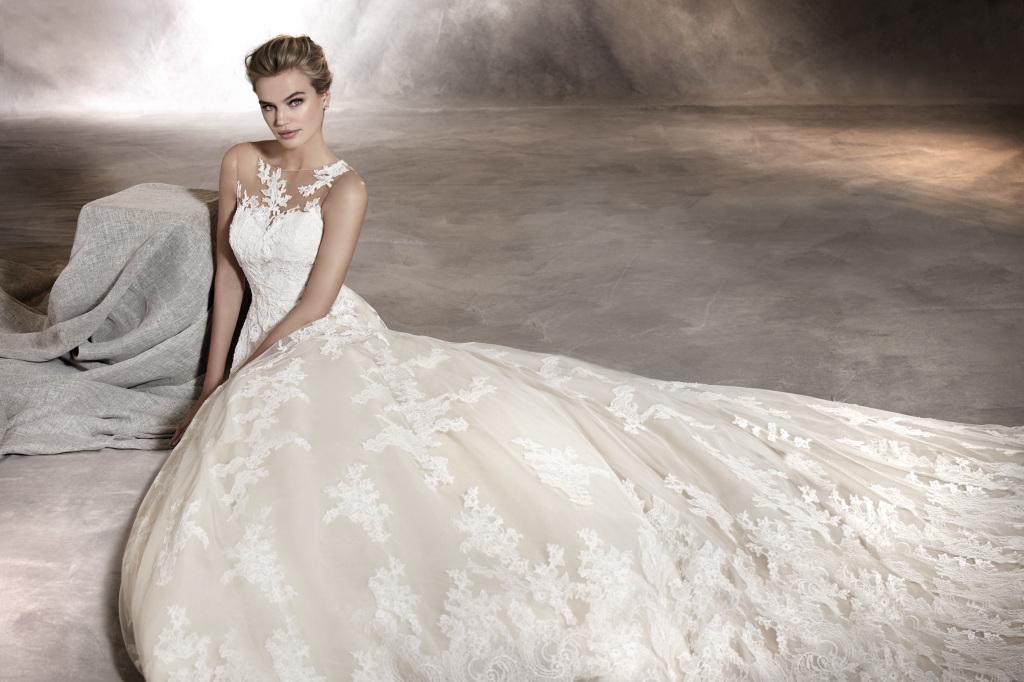 Из каких тканей шьют свадебные платья