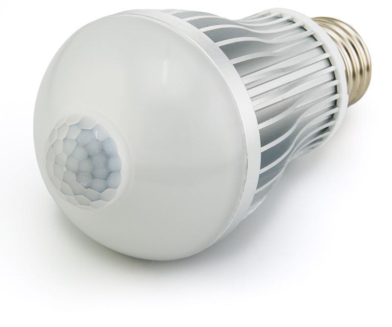 Какими бывают лампочки с датчиком движения