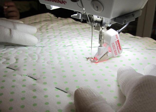 Стегание ткани