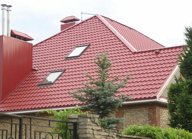 Использование для двускатных и сложных крыш