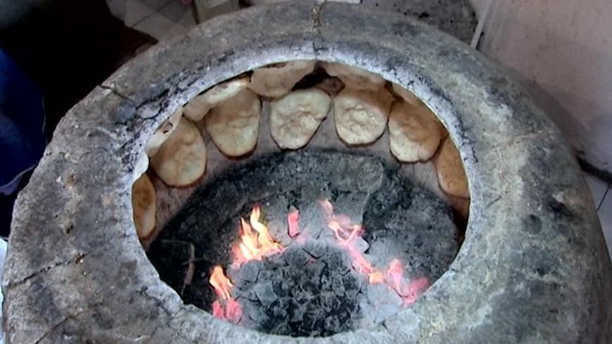 Круглая печка тандыр